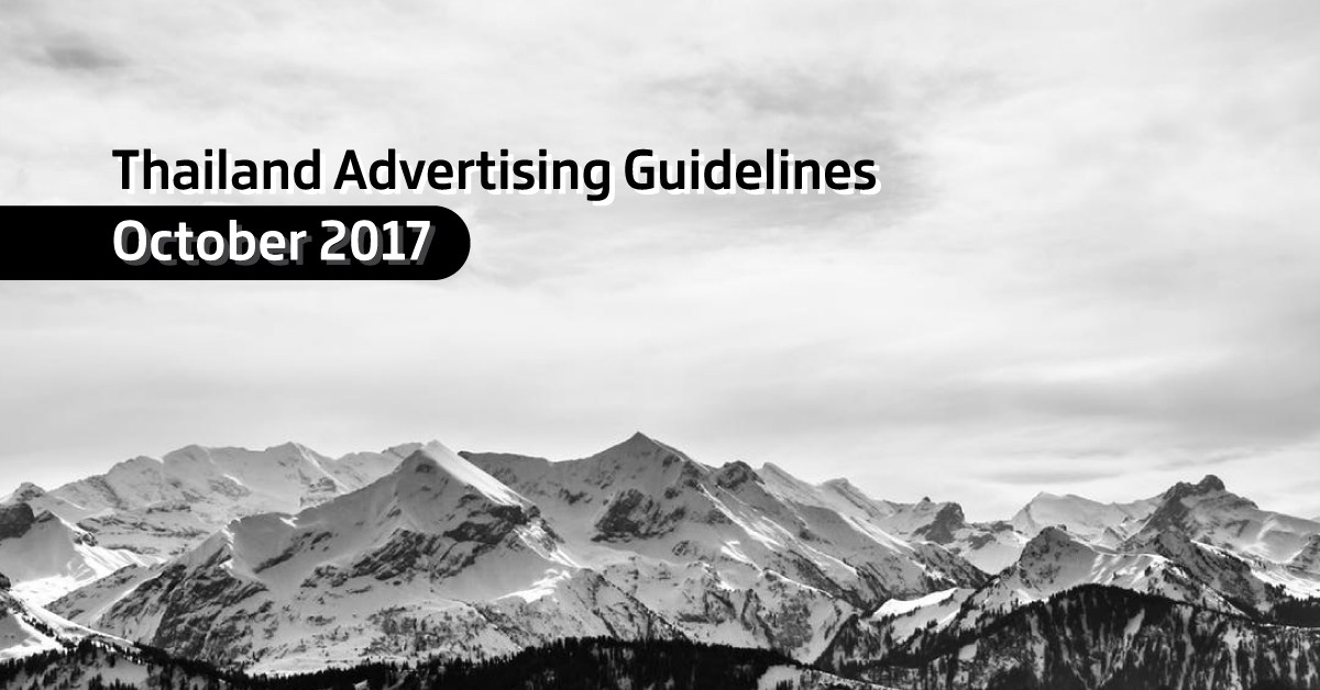 Thailand Advertising Guidelines