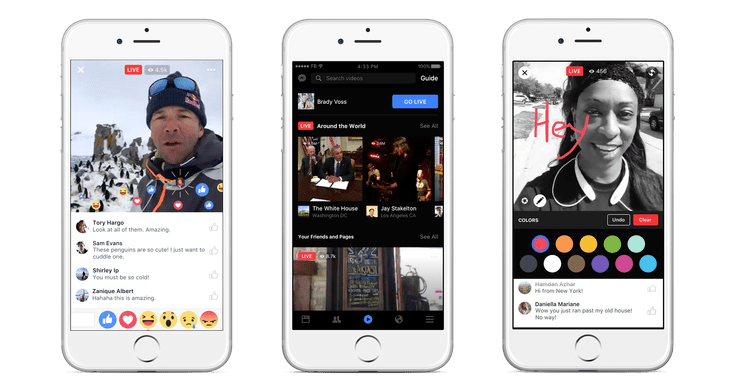 Facebook Communications Video Live|Live Video Facebook