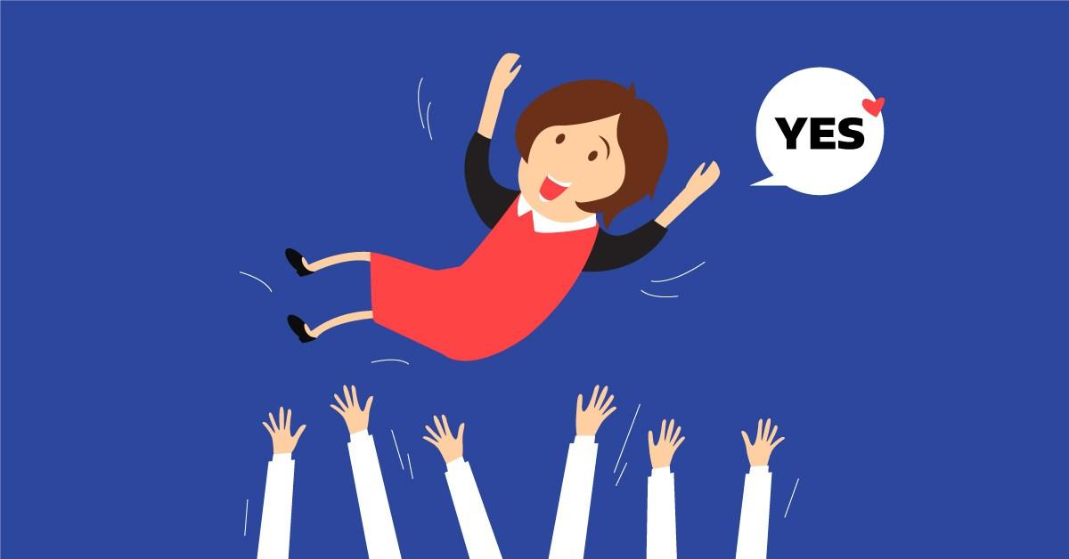 Vero Promotion Happy Employee
