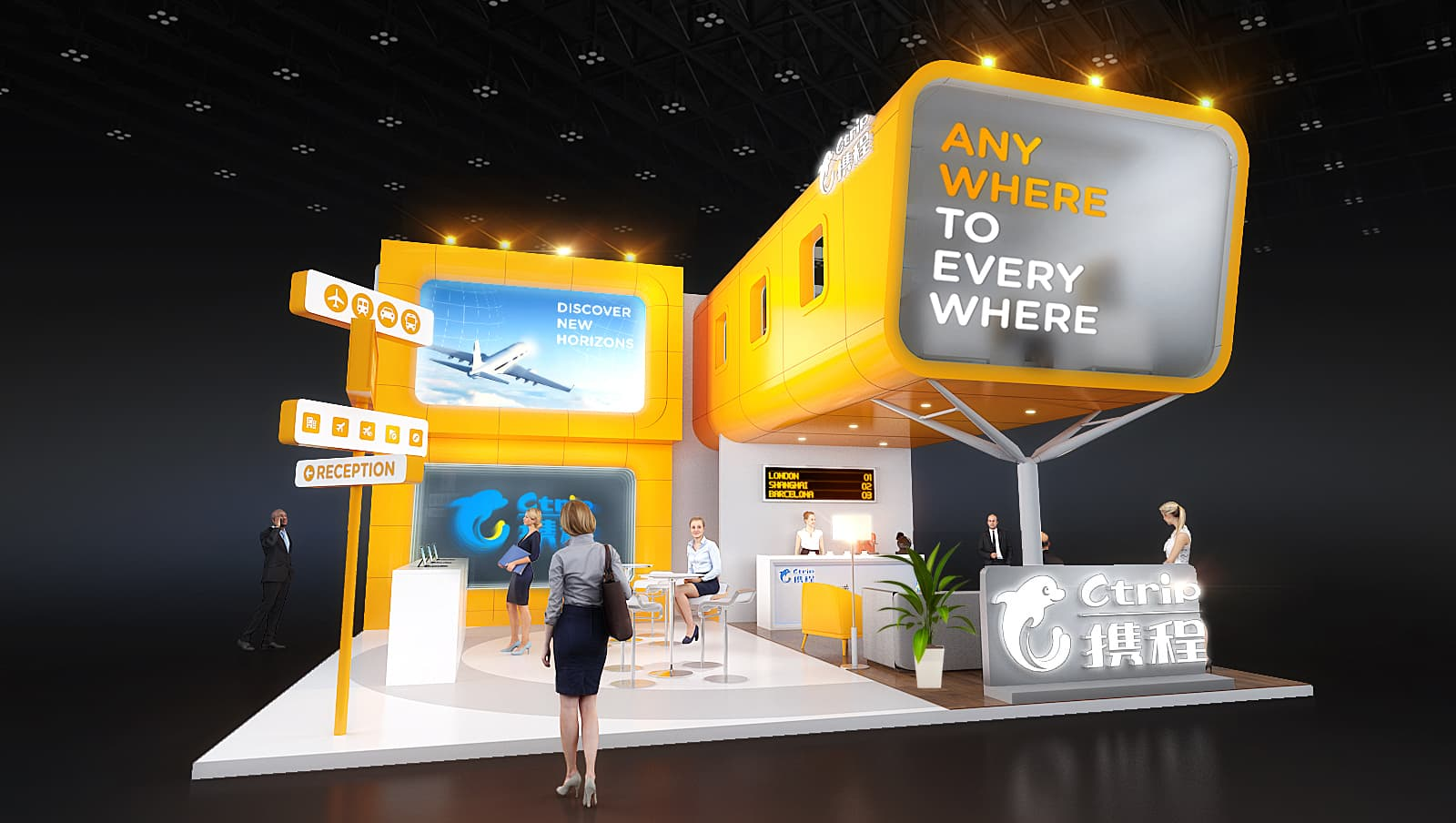 Make the Most Out of Your Next Exhibition Booth