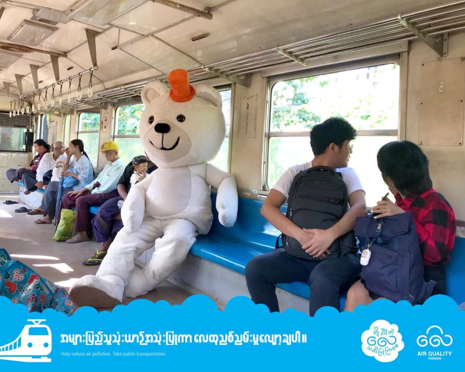 Youth-led 'Dr. Air Bear' campaign raises awareness of air pollution and inspires change in Myanmar and Southeast Asia