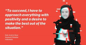 Growing an agency during a pandemic: An interview with Vero Indonesia's Diah Andrini Dewi