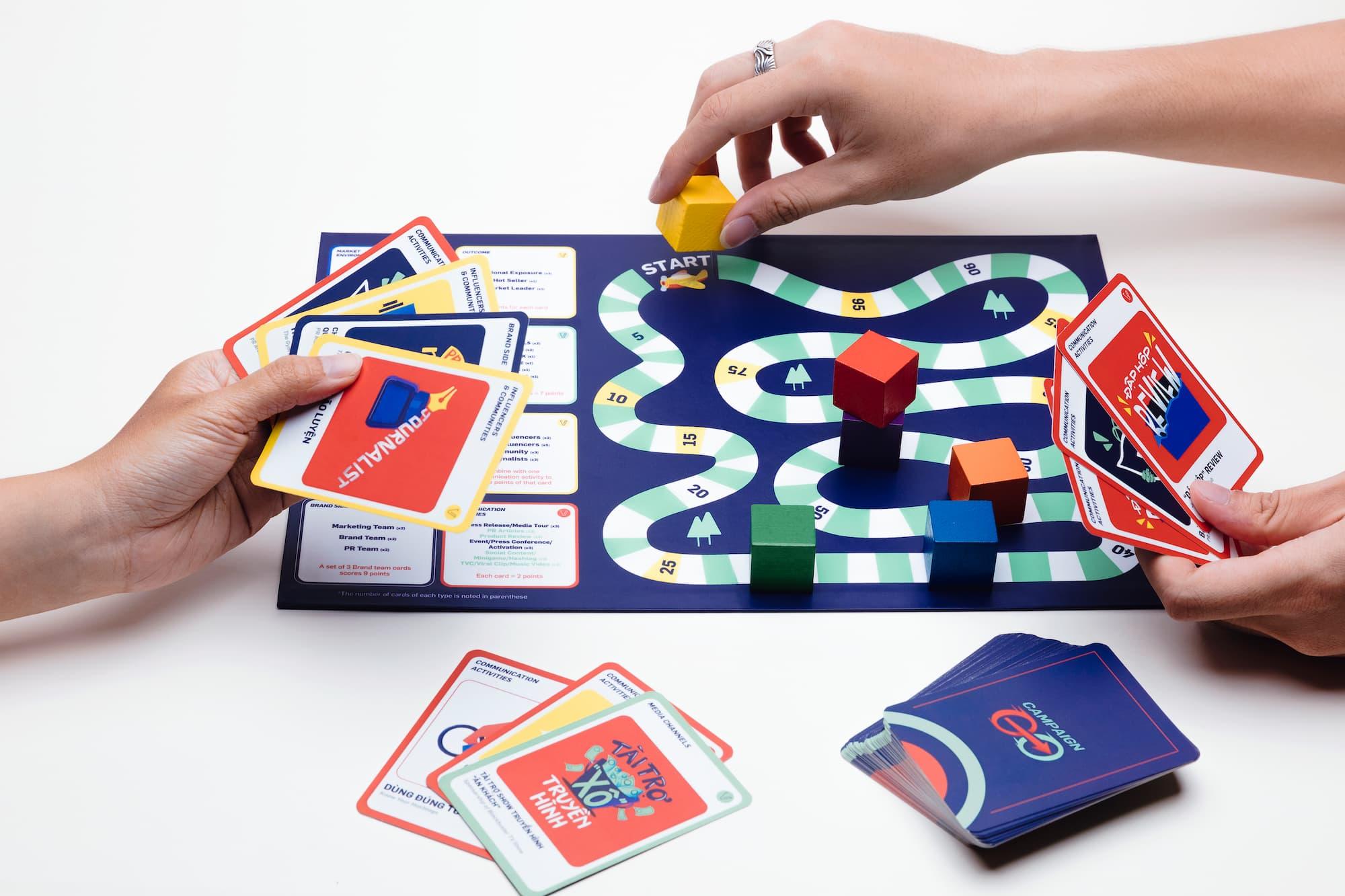 Campaign Go – Vero's New Board/Card Game