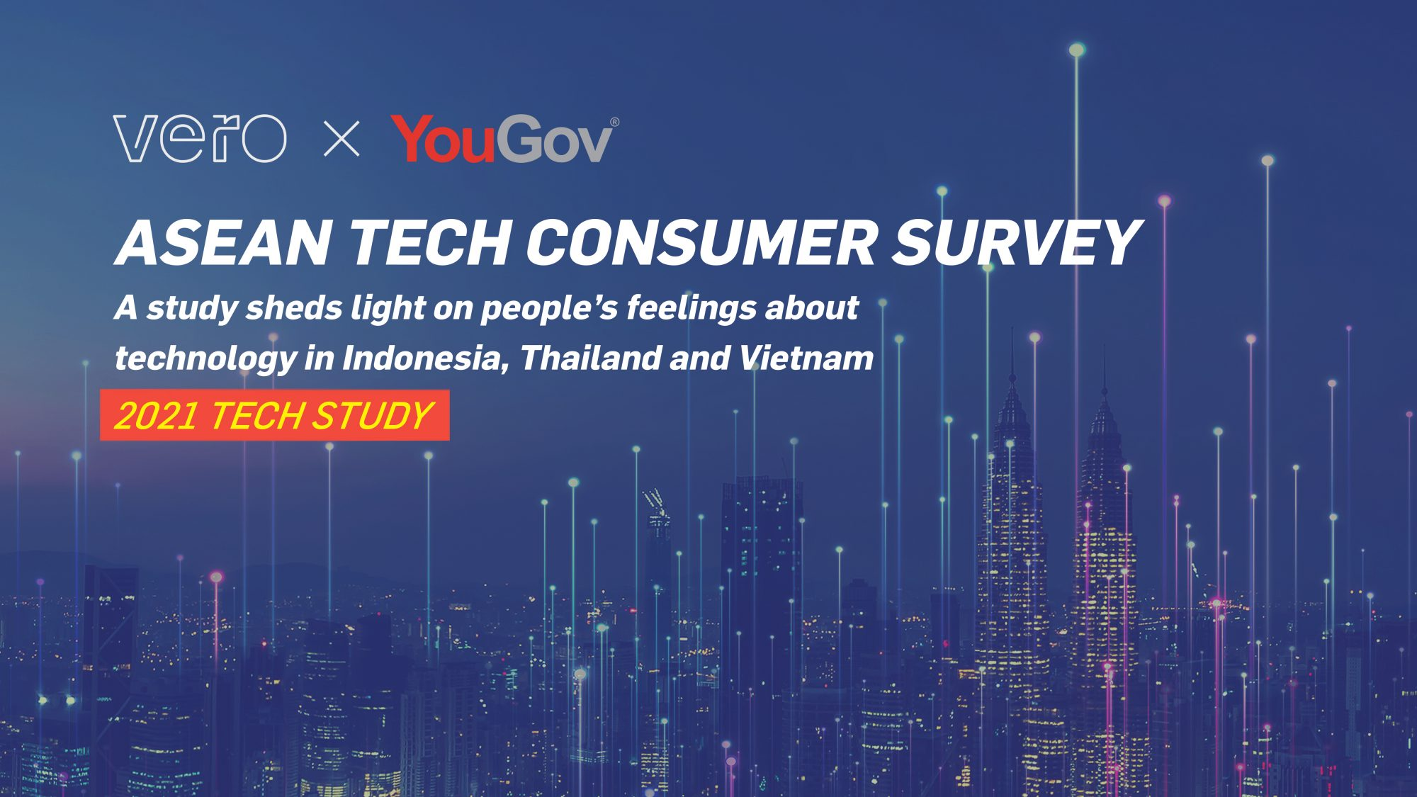 Vero x YouGov Study Reveals Tech Consumer Preferences in Indonesia, Thailand, and Vietnam during Covid-19